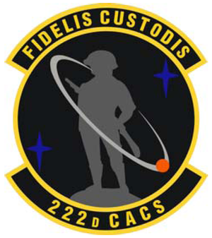 222d Command and Control Squadron - 222d Command and Control Squadron emblem