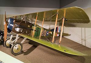 22d Aero Squadron - Image: 22d Aero Squadron SPAD 13 Smithsonian