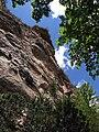 243 Cingle del Fitó des del camí de l'Ermita, Sant Miquel del Fai.JPG