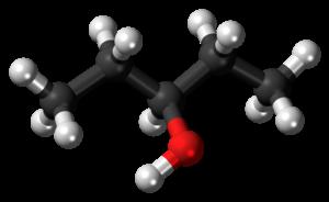 3-Pentanol - Image: 3 Pentanol 3D balls