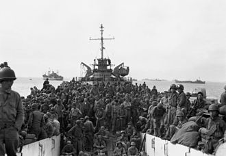 Battle of Inchon - The 31st Infantry lands at Inchon