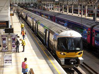 an airport rail link between London Heathrow Airport and Paddington.