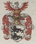 Bishop's coat of arms Gottfried II.