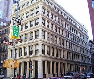 361 Broadway - Image: 361 Broadway James White Building