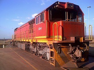 South African Class 39-000 - No. 39-251 as Khumani Iron Ore's LC9-1, 11 July 2013