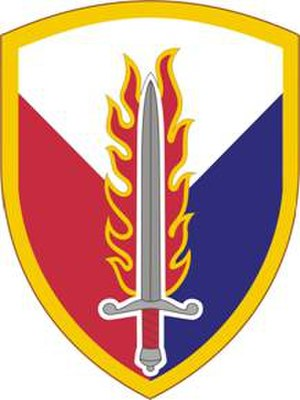 21st Theater Sustainment Command - Image: 409Spt Bde SSI