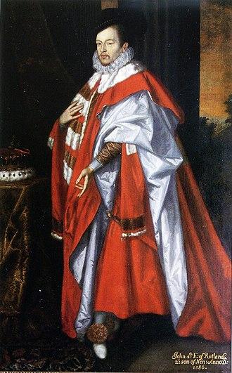 John Manners, 4th Earl of Rutland - John Manners, 4th Earl of Rutland, mid-1670s, by Jeremiah van der Eyden, Belvoir Castle
