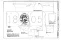 524 Pine Street (House), Rainwater Conductor Head, Philadelphia, Philadelphia County, PA HABS PA,51-PHILA,538- (sheet 1 of 1).png