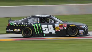 Buschwhacker - The No. 54 Monster Energy Toyota of Joe Gibbs Racing, primarily driven by Kyle Busch.