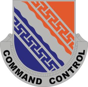 160th Signal Brigade (United States) - Image: 54 Sig Bn DUI