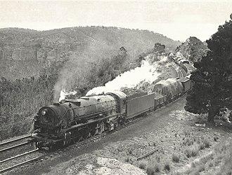 New South Wales D57 class locomotive - Image: 5712 Mt Vic 1954