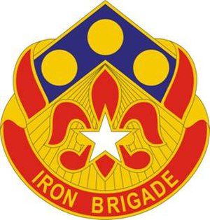 157th Maneuver Enhancement Brigade - Image: 57FABde DUI