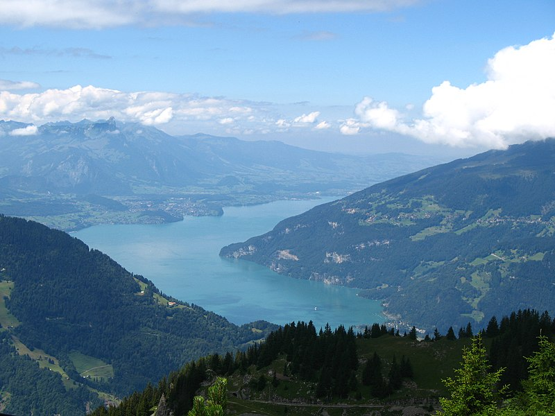 File:5803 - Schynige Platte - View over Thunersee.JPG
