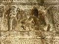 6th century amorous couple mithuna kama scene (cave 1), Badami Hindu cave temple Karnataka 5.jpg