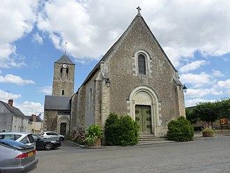 Cré-sur-Loir - The church