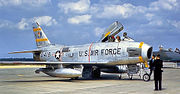 81st Fighter-Bomber Squadron - North American F-86H-10-NH Sabre - 53-1418