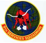 9 Services Sq emblem.png