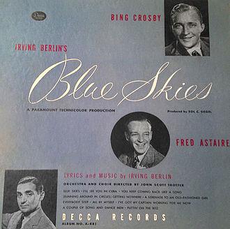 Blue Skies (1946 film) - Blue Skies (Decca Records 1946)