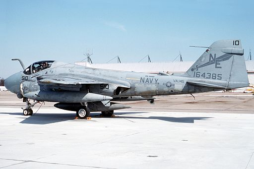 A-6E Intruder of VA-145 in 1992