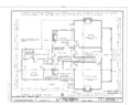 A. T. Page House, Wilkenson Street, Cary, Wake County, NC HABS NC,92-CARY,1- (sheet 5 of 23).png
