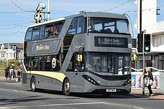 Blackpool Transport - Image: AD E40D~AD~2017. No.425