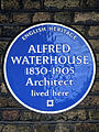 ALFRED WATERHOUSE 1830-1905 Architect lived here.jpg