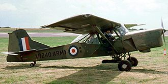 Auster AOP.9 - Formerly XR240, this aircraft now (2008) flies as G-BDFH