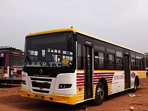 Vijayawada Bus Rapid Transit System - Buses used in Vijayawada BRTS