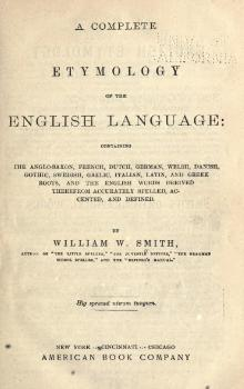 A Complete Etymology of the English Language.djvu