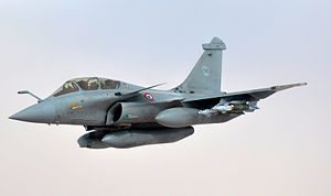 French Armed Forces - Dassault Rafale of Armée de l'Air.