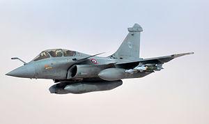 French Armed Forces - Dassault Rafale of Armée de l'Air.