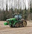 A John Deere track tractor - geograph.org.uk - 1759405.jpg