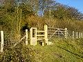 A Stile near Greenhill Wood - geograph.org.uk - 87301.jpg