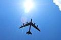 A U.S. Air Force Boeing B-52 Stratofortress flies overhead (28081863173).jpg