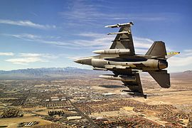 A USAF F-16 pilot breaking right on final approach over northern Las Vegas.jpg