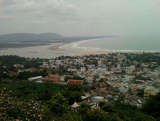 Bheemunipatnam Neighborhood in Visakhapatnam, Andhra Pradesh, India