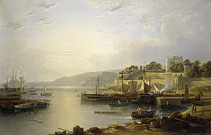 Andrew Wilson (artist) - A View of Burntisland, about 1823.