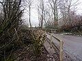 A bridge over the river Caen on Aylescott Hill - geograph.org.uk - 1672235.jpg