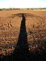 A long shadow - geograph.org.uk - 1072823.jpg