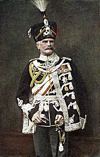 August von Mackensen - August von Mackensen in full hussar uniorm.