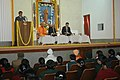 A youth delivering a speech on Swami Vivekananda during the National Youth Day celebrations on the occasion of Swami Vivekananda's birth Anniversary, at the Ramakrishna Mission, Delhi on January 12, 2009.jpg