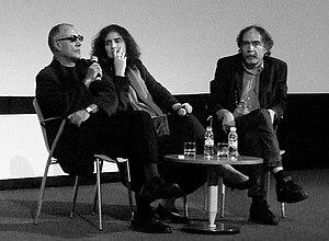 Lisbon & Estoril Film Festival - Abbas Kiarostami and Paulo Branco at the Estoril Film Festival in 2010