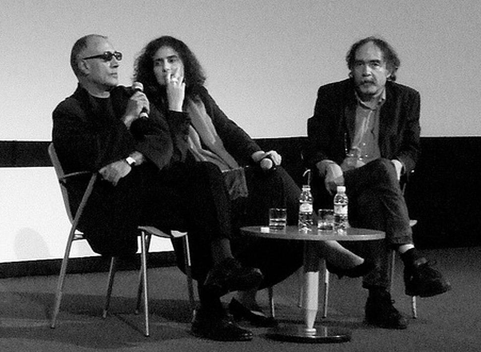 Abbas Kiarostami & Paulo Branco at Estoril Film Festival 2010
