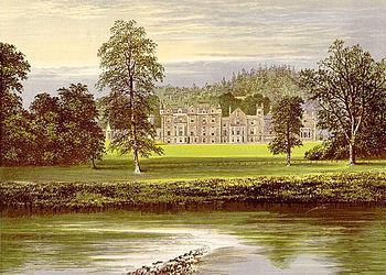 Abbotsford House en 1880.