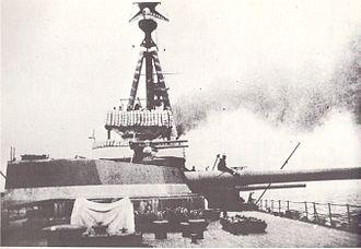 "14""/45 caliber gun - Image: Abercrombie class monitor 14 inch turret"