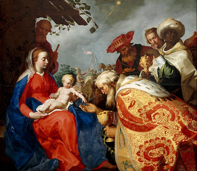 File:Abraham Bloemaert - The adoration of the Magi - Google Art Project.jpg