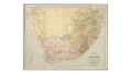 Abraham Jacobus Wendel - Map of South Africa.png