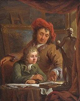 Abraham van Strij - De tekenles
