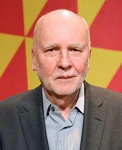 Adam Zagajewski på Kulturhuset i Stockholm den 25 februar 2014 i forbindelse med at Tucholskypriset uddeles.