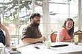 Adam and Jami at Wiki Ed all-staff, 2015-07-07.jpg